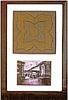 Titanic Framed Original Smoking Room Floor Tile