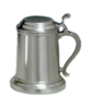 Pewter Covered Tankard