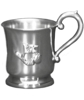 Pewter Titanic Baby Cup
